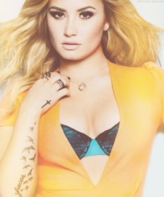 Demi Lovato magazine cover