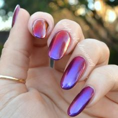 CrowsToes Indian Summer   #shimmer #nails #holographic - bellashoot.com