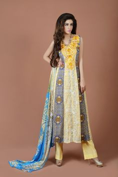 Aroshi Embroidered Classics Summer Lawn Collection Lawn Suits, Dress Collection, Chiffon, Sari, Asian, Clothes, Simple, Dresses, Summer