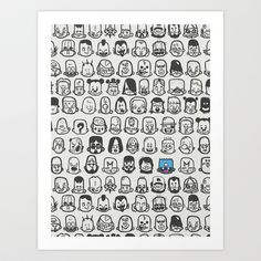 Personality Art Print by Zeke Tucker - $17.68