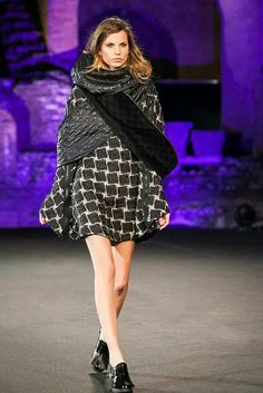 Tedea fall-winter  Madeinmedi fashion show 2014 Taormina Fashion designer Francesca Passanisi  Photo Valerio D'Urso