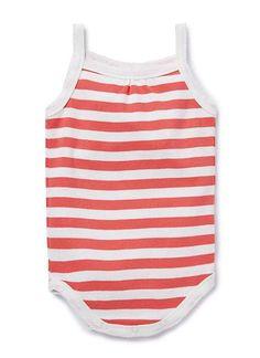Baby Girls Dresses & Tunics | Stripe Romper | Seed Heritage