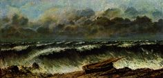 The Waves - Courbet Gustave