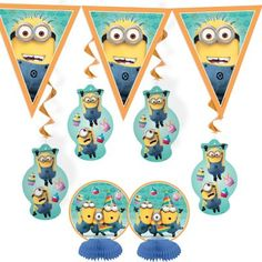 Got these for Erics minion party