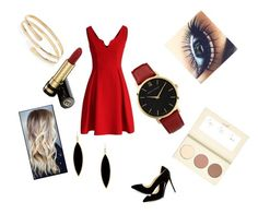 Sexy night by cansu-celebi on Polyvore featuring polyvore, мода, style, Chicwish, Larsson & Jennings, River Island, Rivka Friedman and Gucci