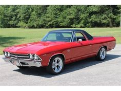 1969 El Camino SS. Maintenance of old vehicles: the material for new cogs/casters/gears could be cast polyamide which I (Cast polyamide) can produce