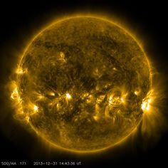 Quiet Corona and Upper Transition Region of the Sun   NASA