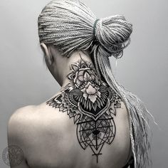 Awesome mandana neak tattoo - 50 Awesome Neck Tattoos