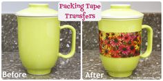 Sew Can Do: January's Pinterest Challenge & Packing Tape Transfers!