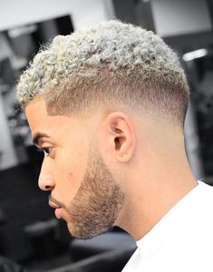 Platinum Blonde Faded Hair hair styles for women Cool Short Hairstyles, Black Men Hairstyles, American Hairstyles, Cool Haircuts, Afro Hairstyles, Haircuts For Men, Haircut Men, Hairstyles Pictures, Men's Haircuts
