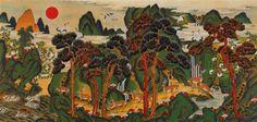 Jackie-Kim-Korean-Folk-Art-Min-Hwa-04.jpg (640×305)