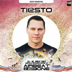 Tiesti confirmed for Airbeat One festival 2017
