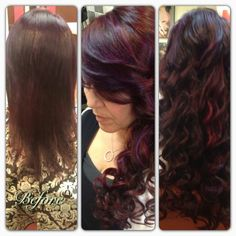 before and after socap fusion extensions