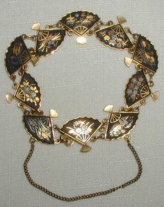 Amita Japanese Fan Bracelet