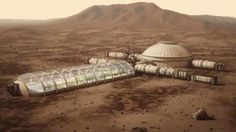 Space Future, Deep Space Industries, Mars Colony