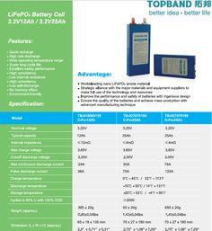 LiFePO4 battery 3.2V12Ah  3.2V25Ah