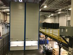 #VLMs and #Mezzanines optimize your vertical space, keep your processes streamlined, and keep your small and large parts organized. Consult with us to specify and price a vertical lift module or a mezzanine in your space. Our expert industrial consultants know how to make operations flow, keep certifications intact, and save you on warehouse costs. We install nationwide, all year-round. #buildupnotout #verticalliftmodule #designwithus #consultwithus Industrial Storage, Save Yourself, Warehouse, Flow, Organization, Space, Mezzanine, Getting Organized, Floor Space
