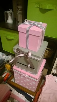 Baby Shower Card/ Money Box