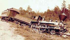 Earthquake of August 31, 1886, centered near Charleston, SC, damaged many of the railroads in the area.