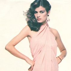 Gia Carangi Givenchy disco evening dress pattern  by PatternVault
