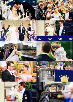 The wedding of princess victoria and daniel westling