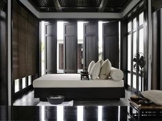 Spa Treatment Room I Nam Hai luxury resort in Danang, Vietnam. Spa Design, Salon Design, Urban Deco, Piscina Spa, Spa Luxe, Restaurant Hotel, Super Hotel, Room Door Design, Asian Interior