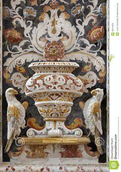 palermo-detail-mosaic-decoration-church-la-chiesa-del-gesu-casa-professa-baroque-was-completed-year-april-30914633.jpg (913×1300)