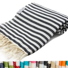 5ffe750738 Wholesale Antibes Turkish Towel - Iconic French Riviera Stripes Beach Bath