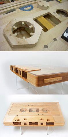 Mixtape Coffee Table by Jeff Skierka