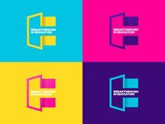 Breakthrough in Education Brand typography flat recruitment e b design breaktrhrough open door mark logo branding Source link Brand Breakthrough education 709317010047936505 Logo Branding, Logos, Layout Design, Web Design, Brand Identity Design, Corporate Design, Branding Design, Education Logo Design, Event Poster Design