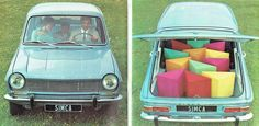 Catálogo comercial francés Simca 1100,1967