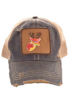 Deer Head Hat (navy) – DejaVu