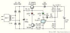 Jednoduchá nabíječka Li-ion / Simple Li-ion charger