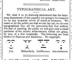 New Time Capsule: Smileys, 1881 - http://www.retronaut.co/2012/06/smileys-1881/