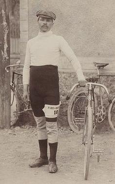 Maurice Garin, vainqueur du 1er Tour de France. 1903.