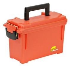 Container: Plano 1312 Dry Storage Emergency Marine Box, Orange. Water-resistant O-ring seal not intended to be submersed under water Top-access storage Limited Lifetime Warranty Water-resistant O-ring seal not intended to be submersed under water Comfortable oversized handle Top-access storage 11.625x5.125x7.125 inch Limited lifetime warranty