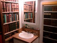 books in the bathroom - Google Search