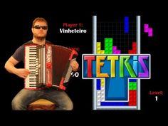 Tetris Theme Song on Accordion -  Korobeiniki