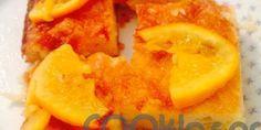 Πορτοκαλόπιτα με φέτες πορτοκαλιού Peach, Candy, Recipes, Food, Recipies, Essen, Peaches, Meals, Sweets