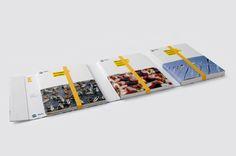 ACTV — Annual Report by Alessio Romandini, via Behance