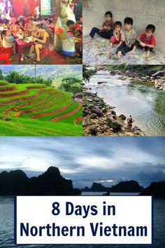 Hanoi - Halong Bahía - Hanoi - Sapa Valle. La guía última hasta 8 días en Vietnam del Norte.