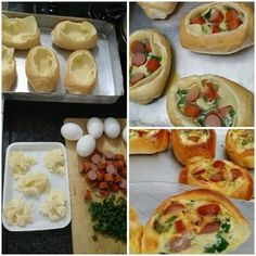 Aprenda a preparar a receita de Omelete no pão