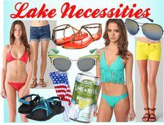 Lake Necessities #springbreak !