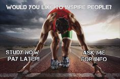 Are Sports and Fitness a BIG part of who you are?   Do you enjoy helping others achieve their goals?   Would you like to inspire people?   A nationally recognised Sports Development qualification can do just that!  WHAT YOU WILL LEARN:  • Coaching practices  • Sports psychology  • Marketing  • OHS  • Risk management  • Drugs in Sport  PM or Email me for INFO! Like us on Facebook https://www.facebook.com/ilearncali/
