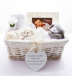 Twinkle Twinkle 'It's A Surprise' Neutral themed Baby Hamper.  The perfect…
