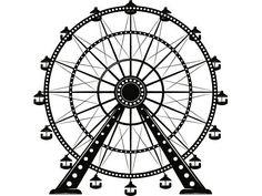 Ferris Wheel 1 Amusement Park Ride State Fair Carnival Circus