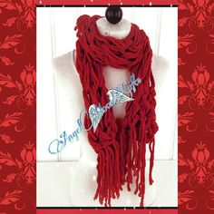 Check out this item in my Etsy shop https://www.etsy.com/listing/276767802/red-fringe-scarf-womens-scarf-birthday