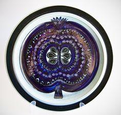 Vintage & Mid Century Ceramics - Focus on Denmark & Scandinavia, U. Ceramic Tableware, Glass Ceramic, Ceramic Art, Century Textiles, Stig Lindberg, Alvar Aalto, Pottery Plates, Pottery Designs, Marimekko