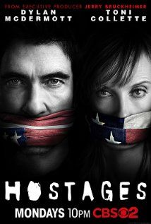 Hostages (TV Series 2013– ) One of the best suspense TV shows in a long time also on Monday night. I love it.