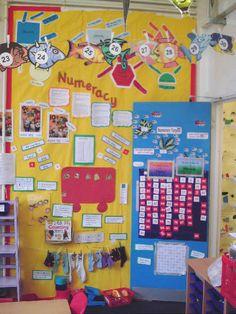 Numeracy - Year 1 classroom display photo - Photo gallery - SparkleBox